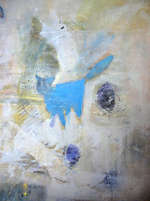 Blue Cat out Walking