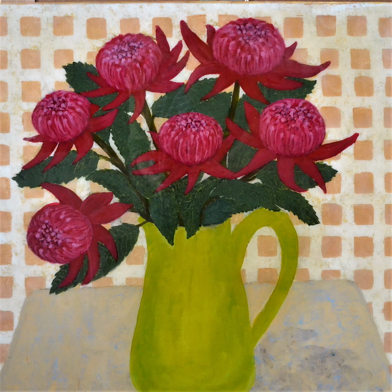 Jug With Waratahs