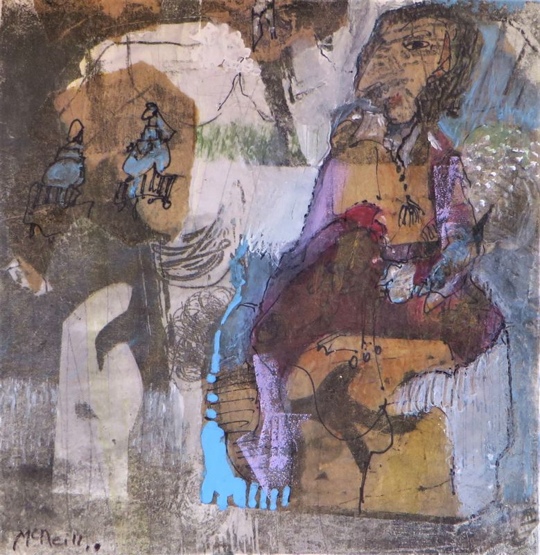 Mother In law Mixed media 30 x 40 cm