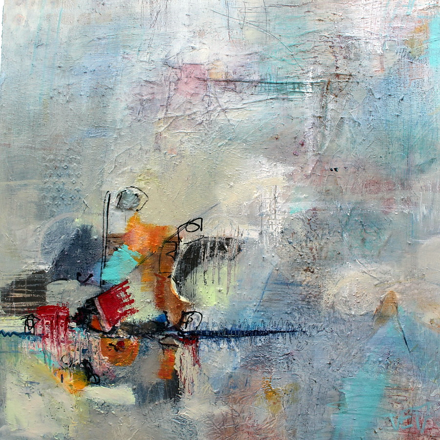 Motion 600x600 Mixed Media on Canvas Sold