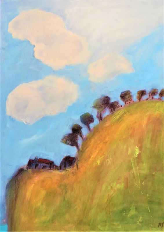 View from the Top Mixed media - SOLD -