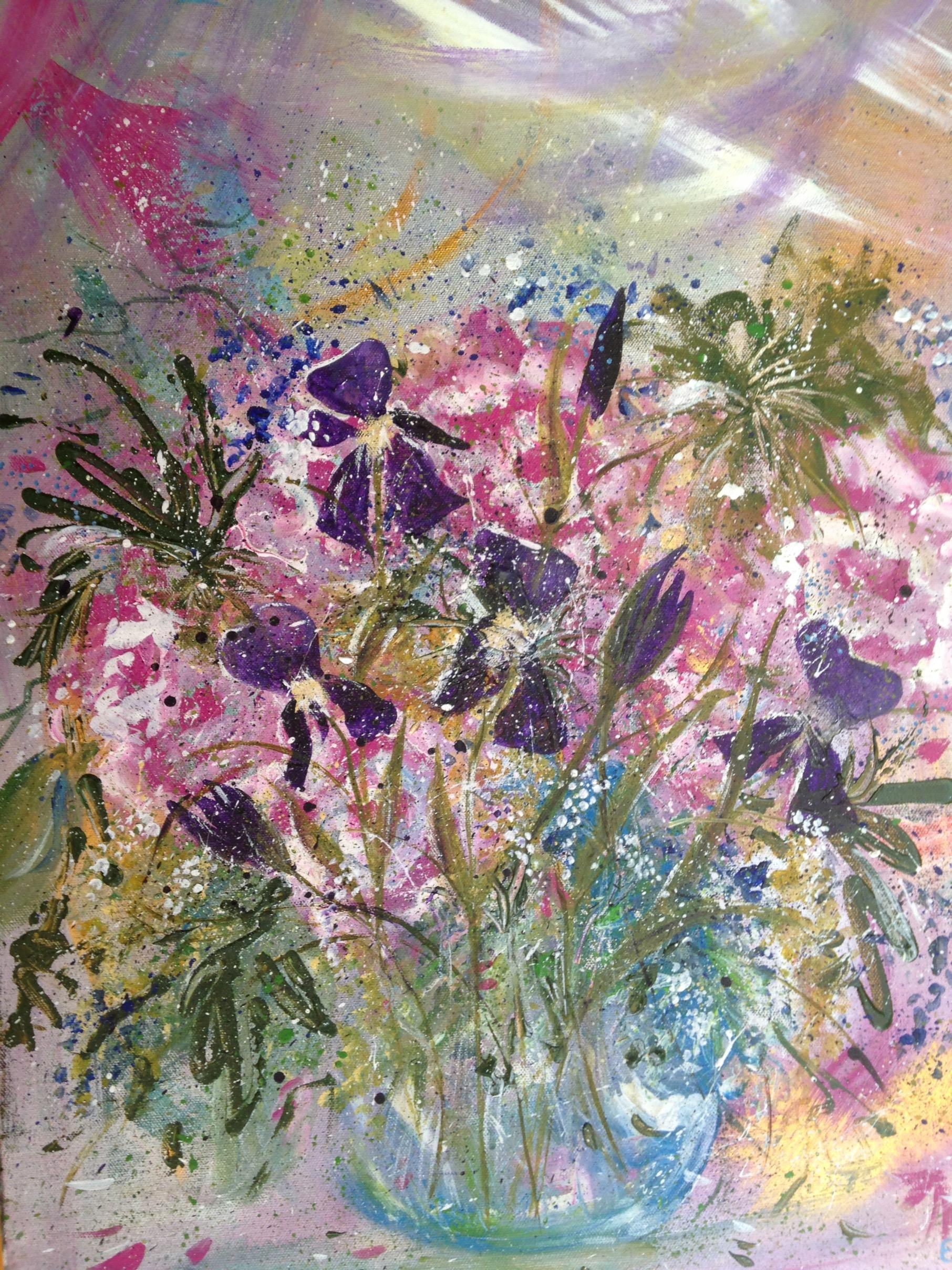 Vintage Vase. Unframed canvas $450