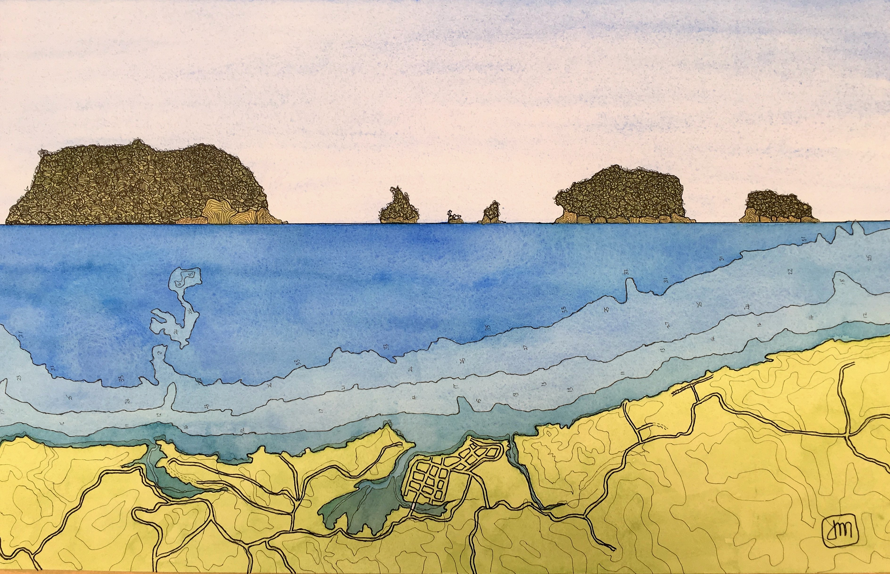 Whangamata Islands