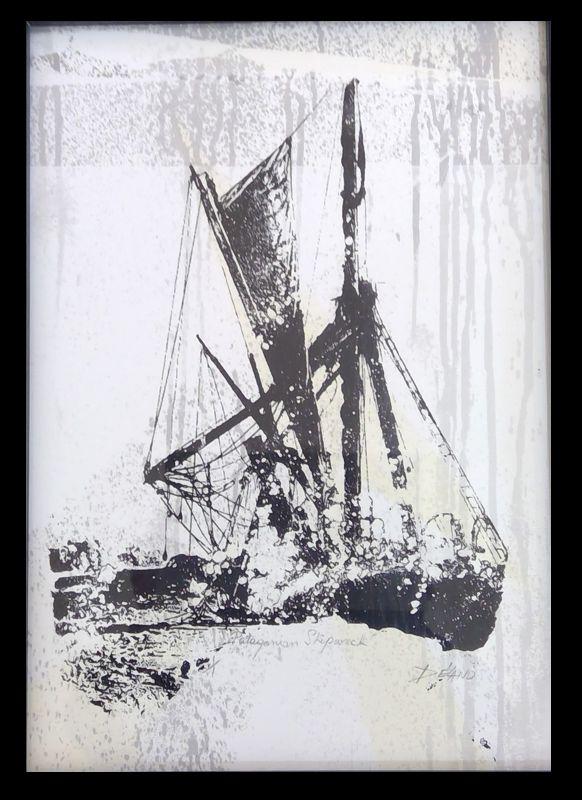 Patagonian Shipwreck SOLD