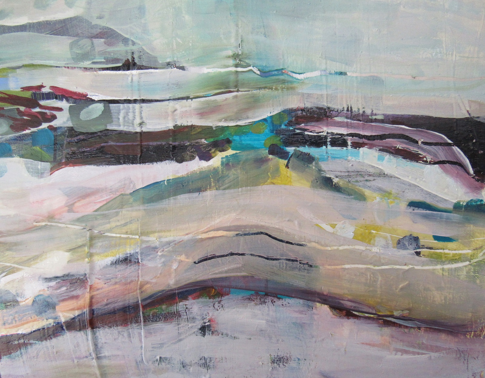 Beach Days 250 x 200.. A reminder of  summer days at the beach For sale $600 Free shipping in New Zealand