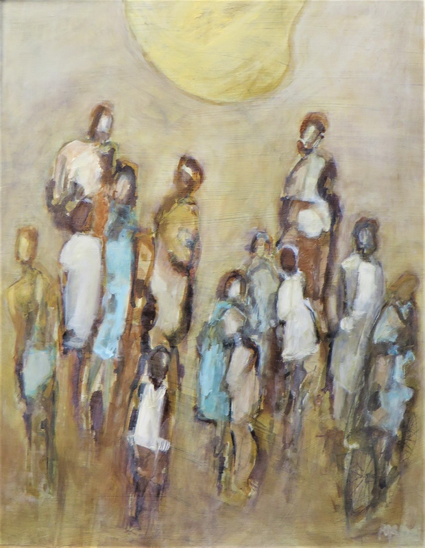 Generations Mixed Media on Board - SOLD -
