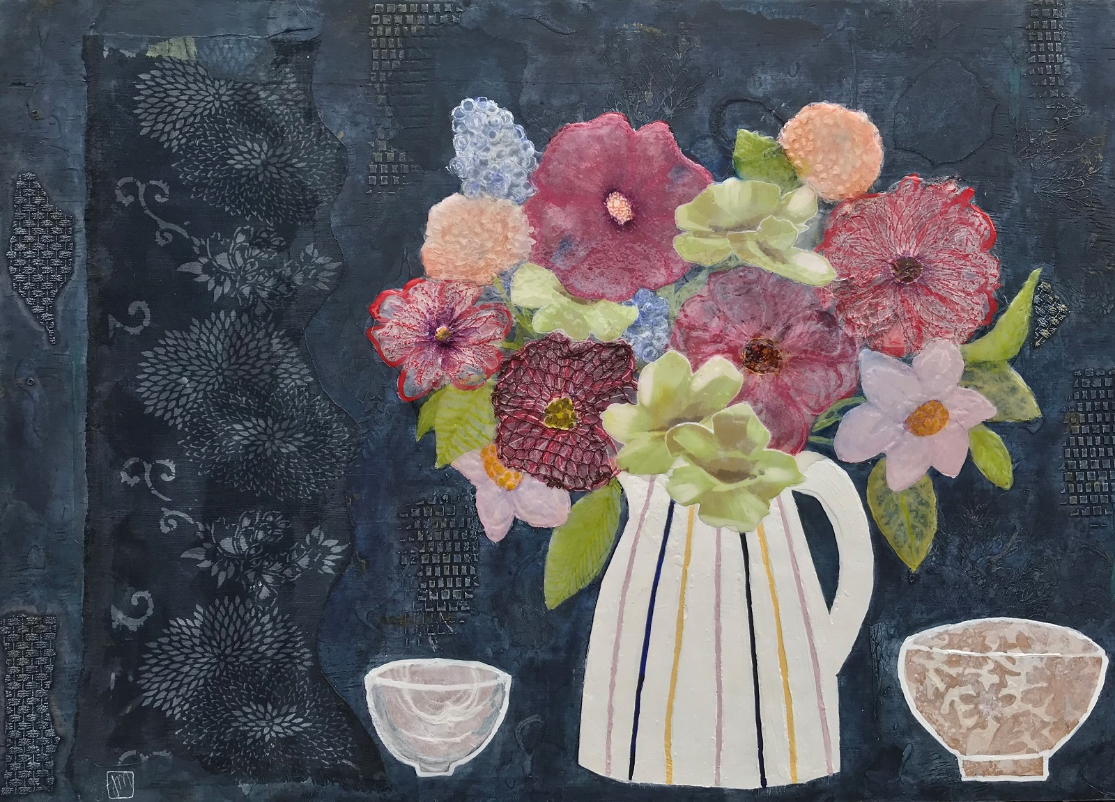 A Favourite Jug & Two Bowls Mixed media on board Framed - 960mm W x 740mm H 950.00 SOLD