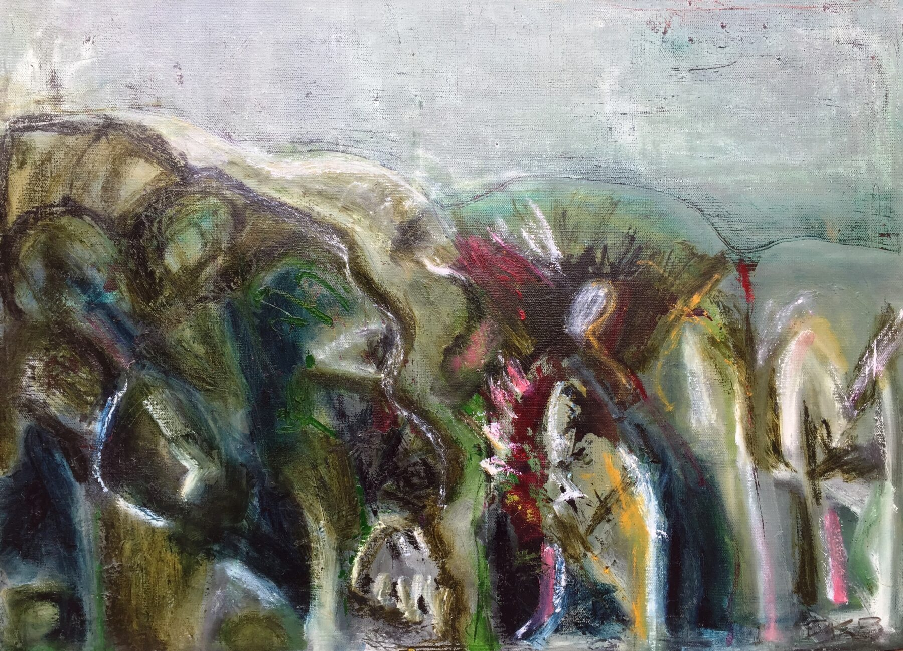 Dead Earth Oil on Canvas 460mm x 615mm      $395