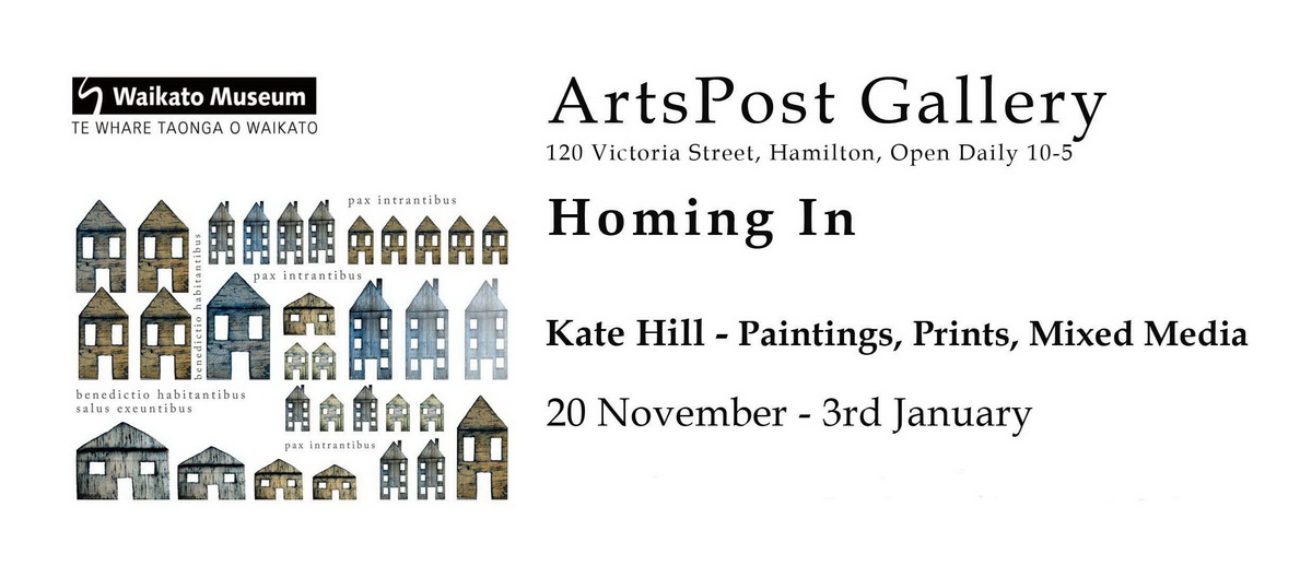 Invitation to Homing In Exhibition