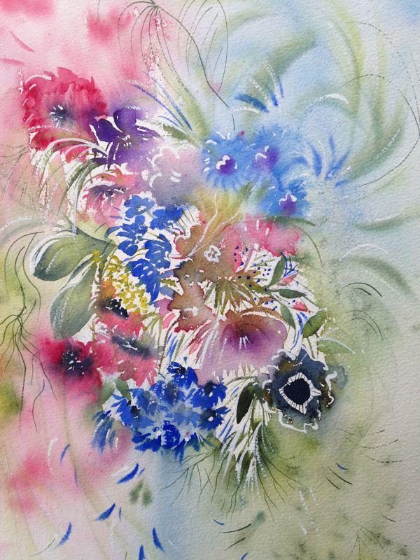 Floral Fancy watercolour
