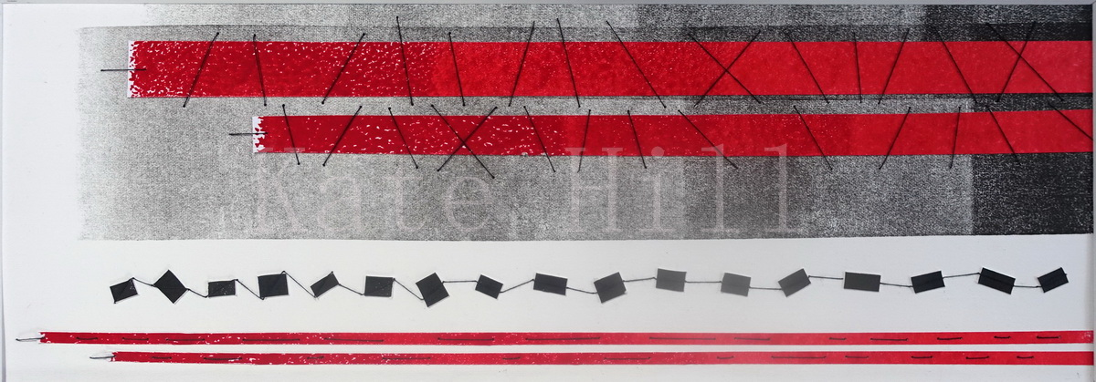 Red Tape Reduction Mixed Media 400 x 510 mm