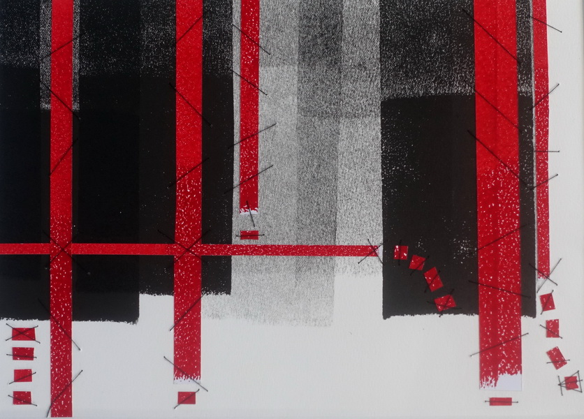 Red Tape Reduction Mixed Media