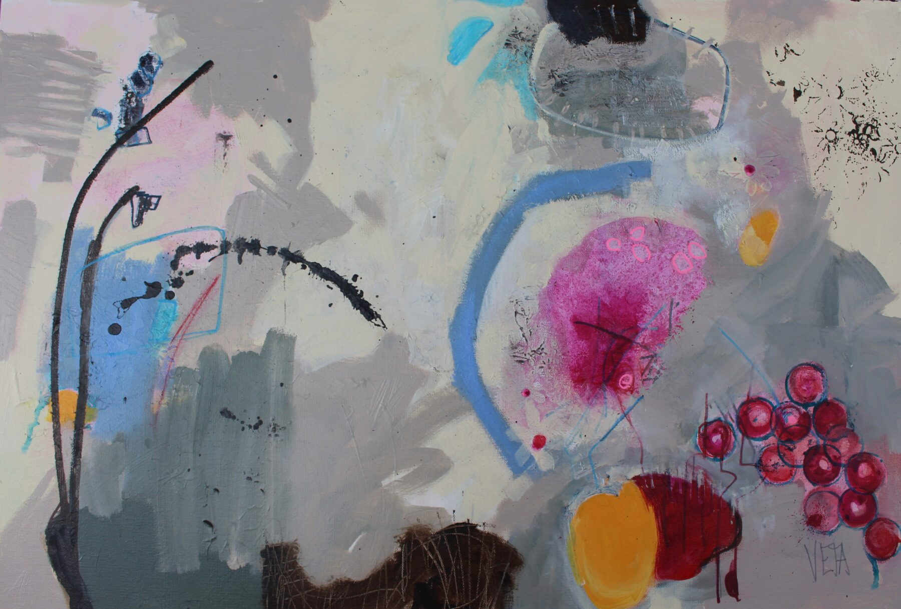 Remember Yesterday 510 x 760 mm Mixed Media 725