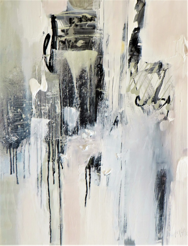 Seen and Unseen Mixed Media on Canvas 80 x 60 cm $ 1200.00