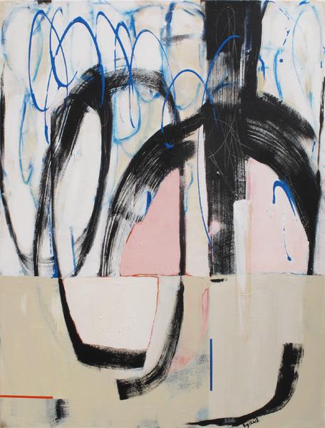 Hullabaloo 1000x760mm Acrylic on Canvas $1875