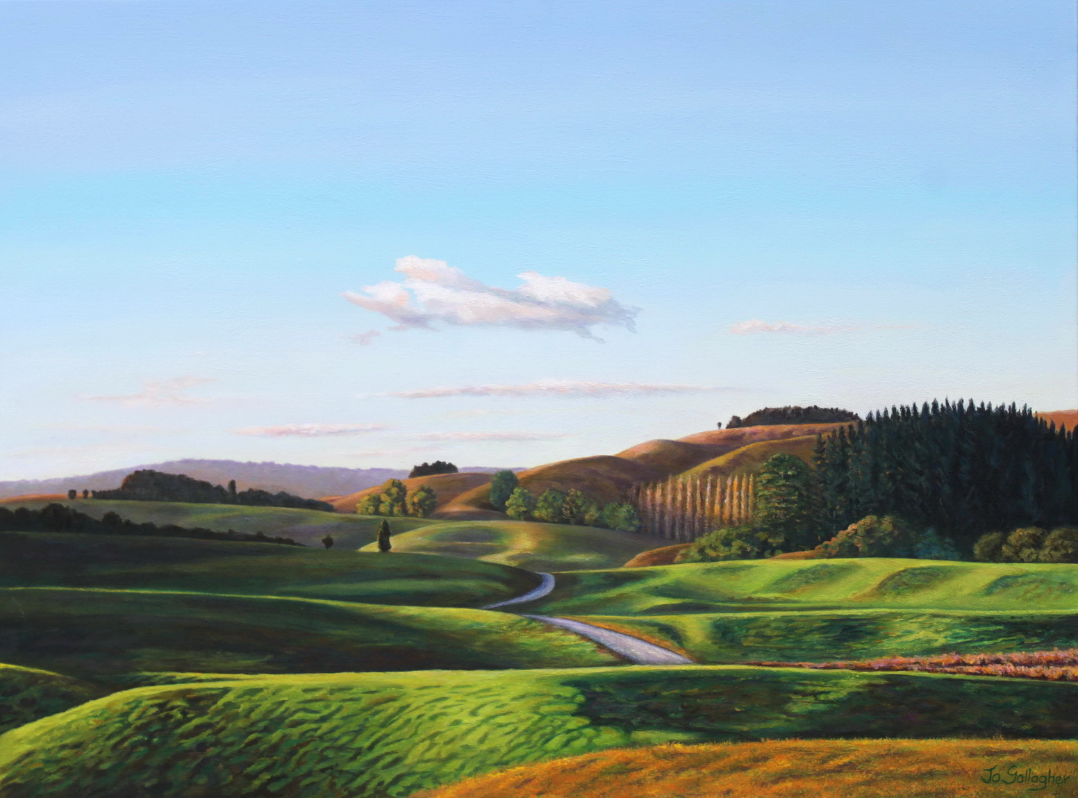 State highway 3 vista