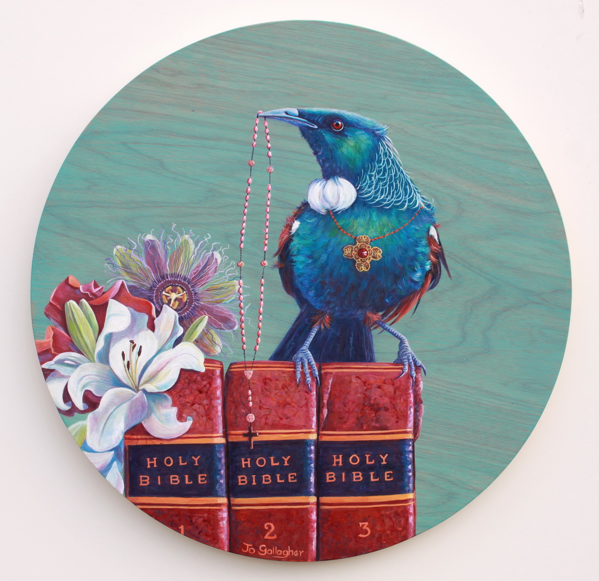 Parson bird...the Holy Books