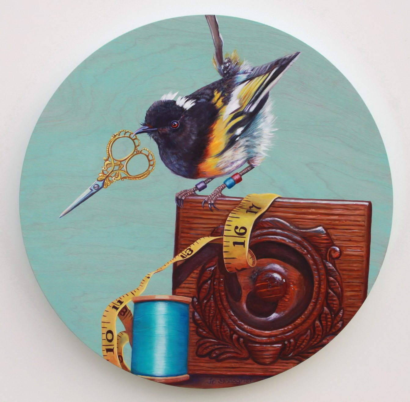 The Stitchbird...armed & dangerous 