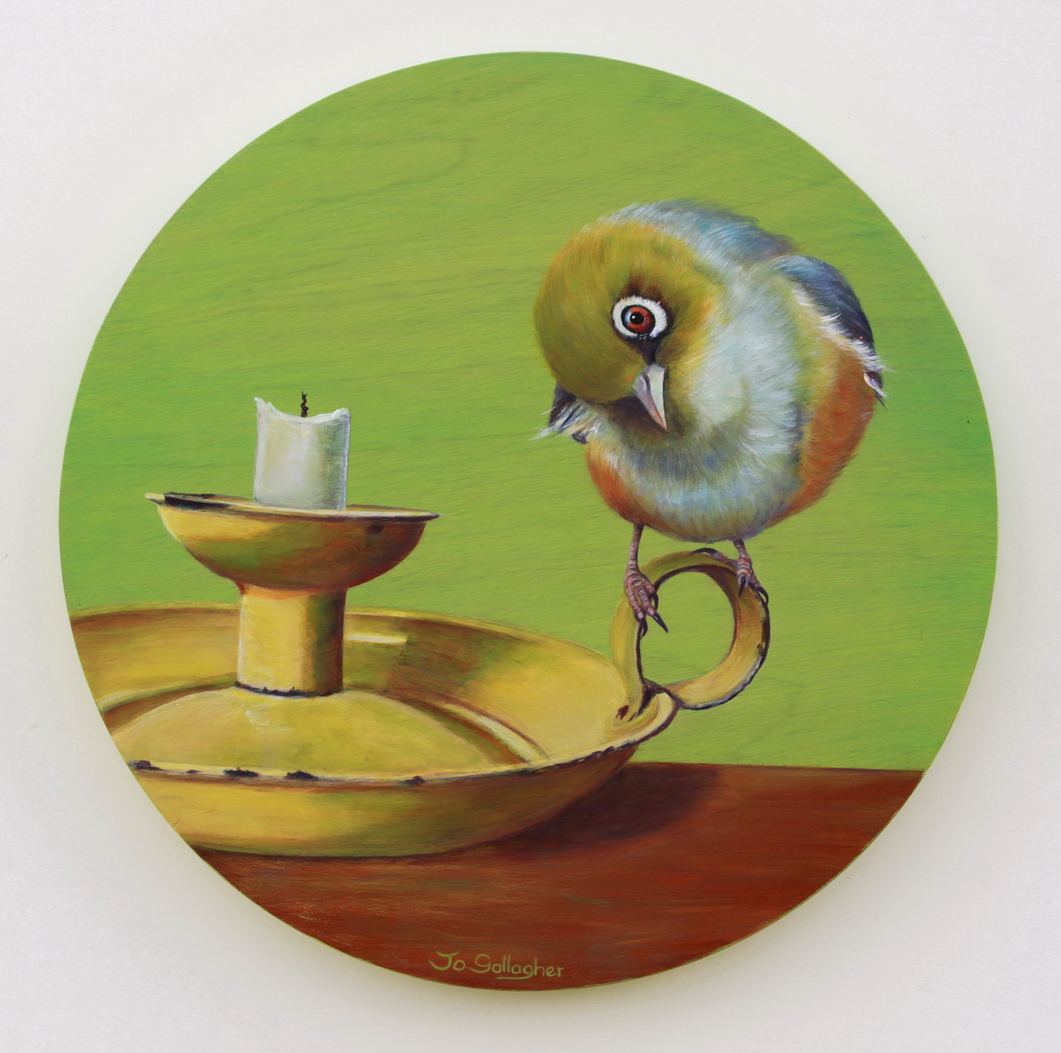 Waxeye....green 