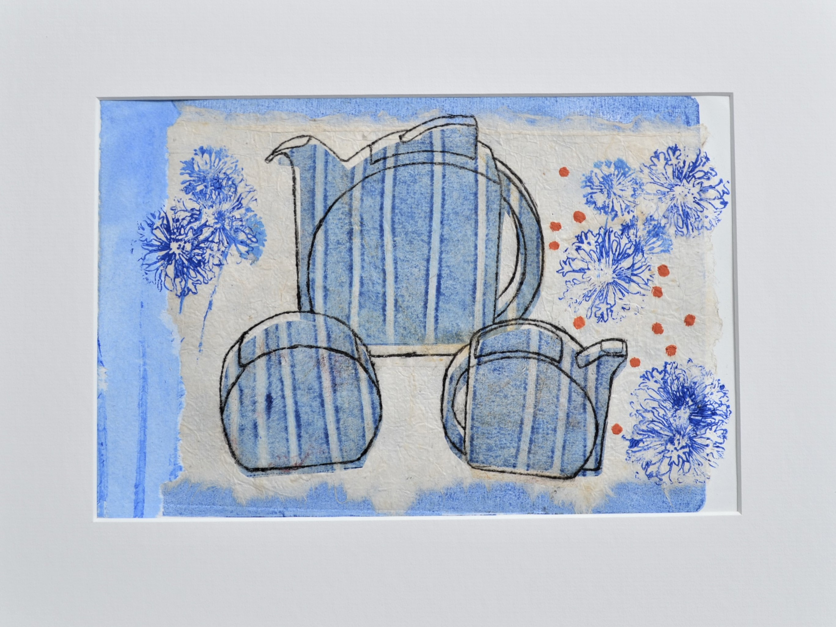 <strong>Art Deco Teaset 4/10 VE<strong>