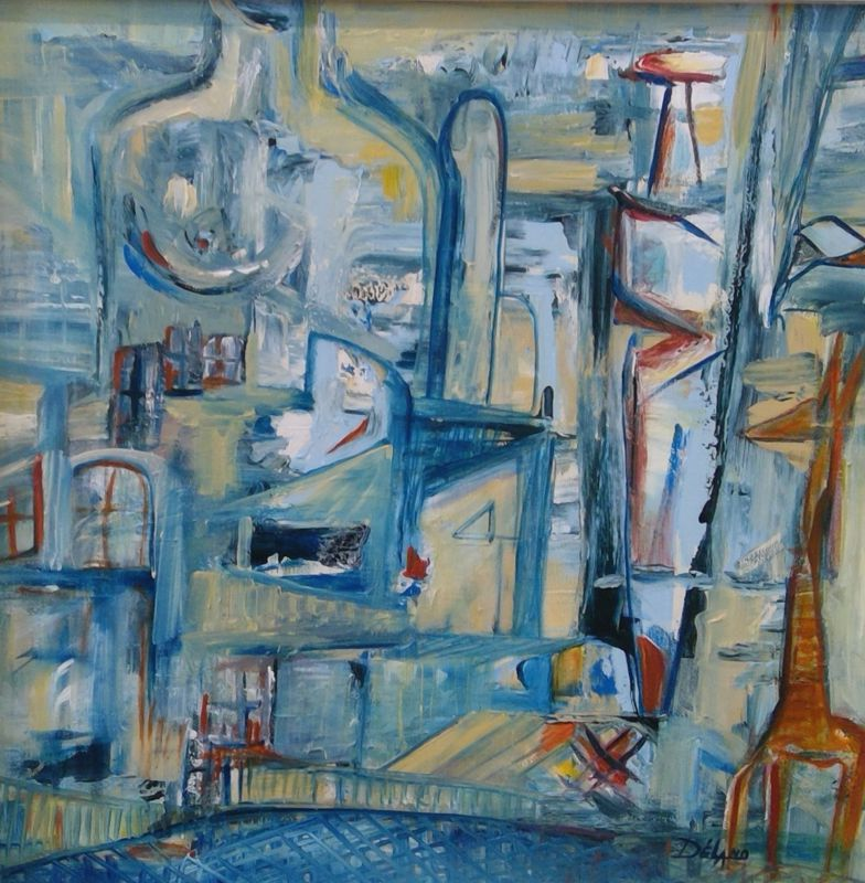 Story of Blue Giraffe