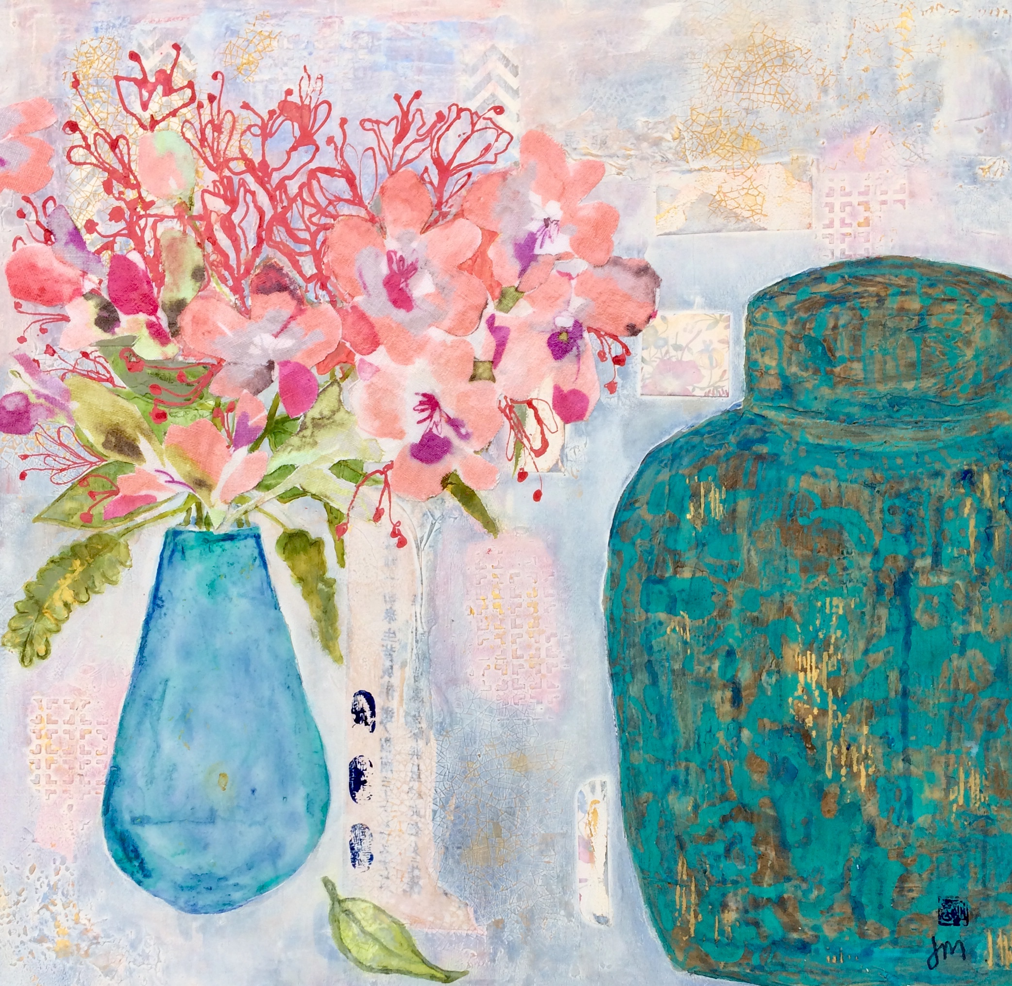 Pinks & A Ginger Jar
