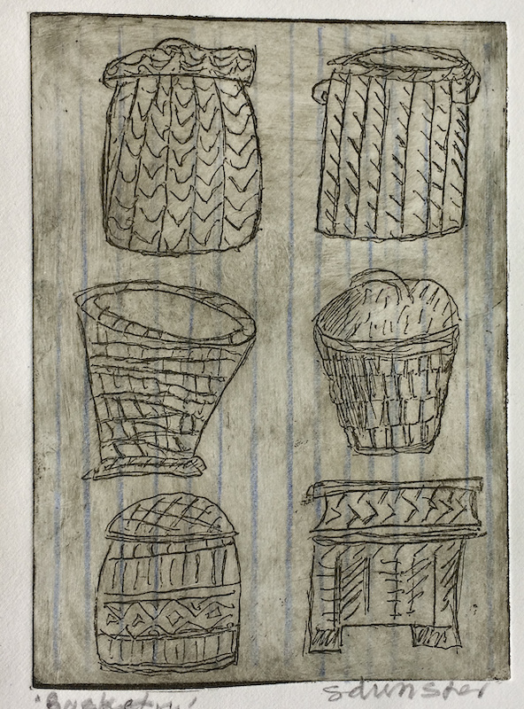 Basketry Etching